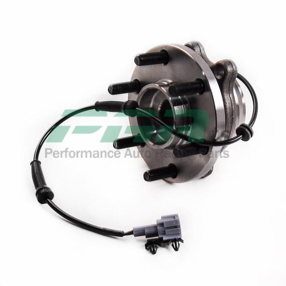 For nissan navara d40 d22 yd25 vq40 abs 4wd front wheel bearing hub spanish par ebay