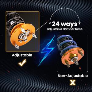 1.Adjustable Damper & Height