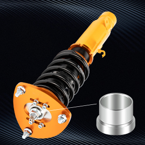 4. Twin-tube Construction Dust boot protects damper seal
