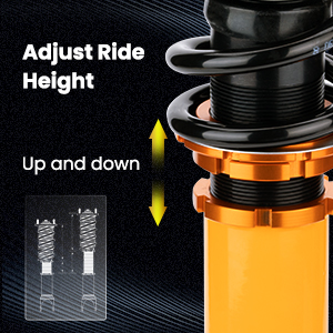 1. Adjustable Damping & Height