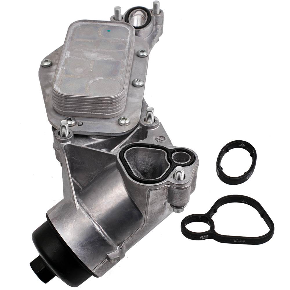 engine oil cooler w  oil filter assembly 93186324 for gm