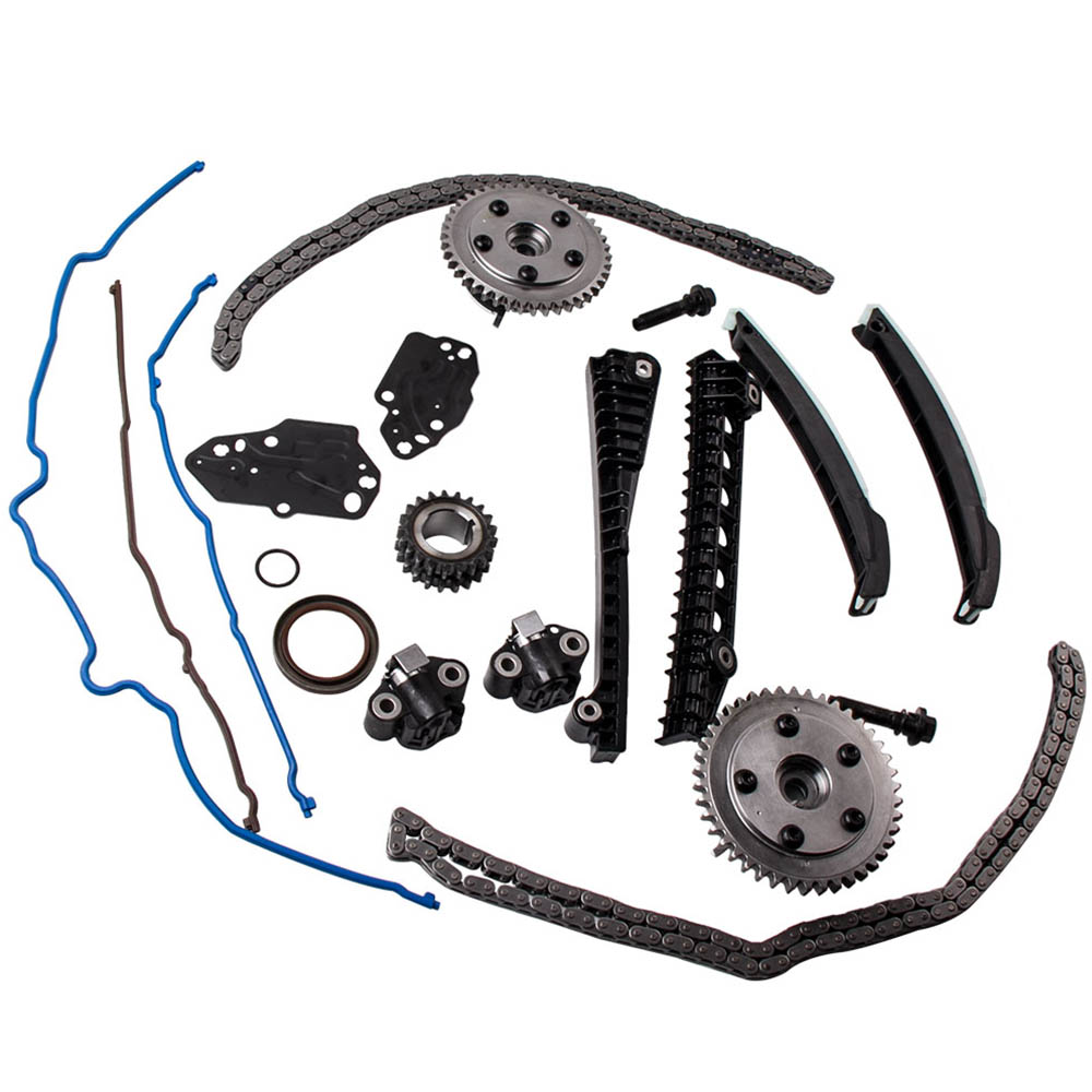 timing chain kit cam phaser  u0026 gaskets set for 04