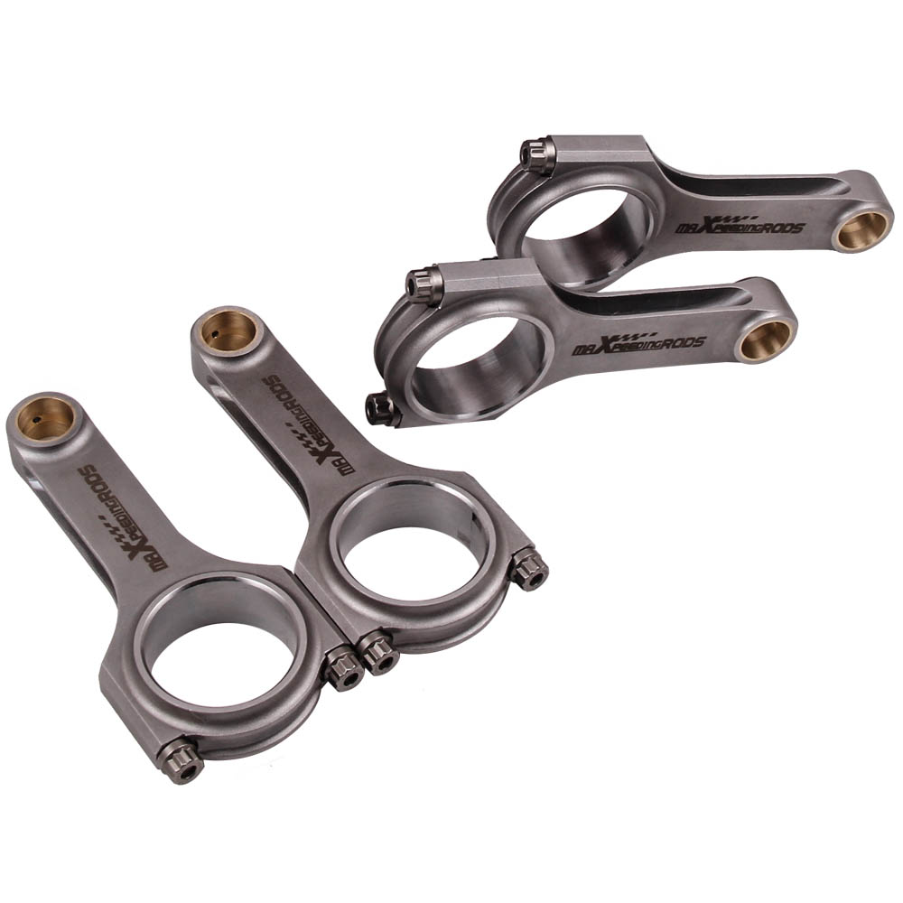 Forged Connecting Rods for Honda Wagon Civic CRX GL DX LX D15B2 SOHC Conrods 4x