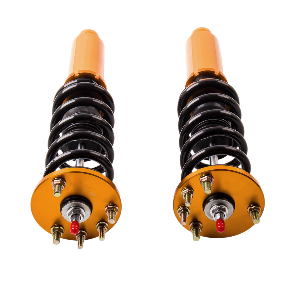 4x Coilovers Suspensión Roscada Amortiguador Para Honda