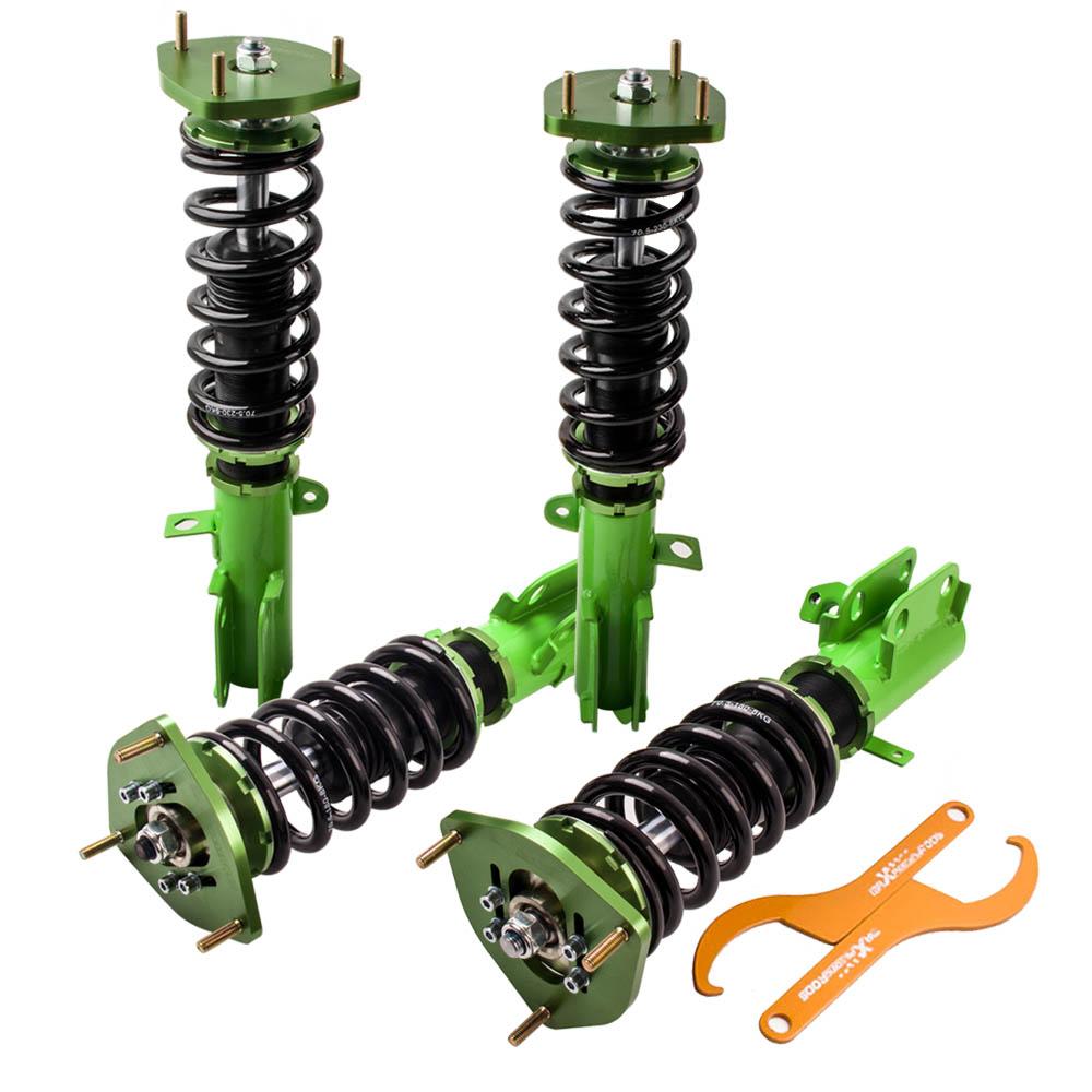Full Assembly Coilovers Kit For Toyota Corolla 88-99 E90 E100 E110 Adj Camber