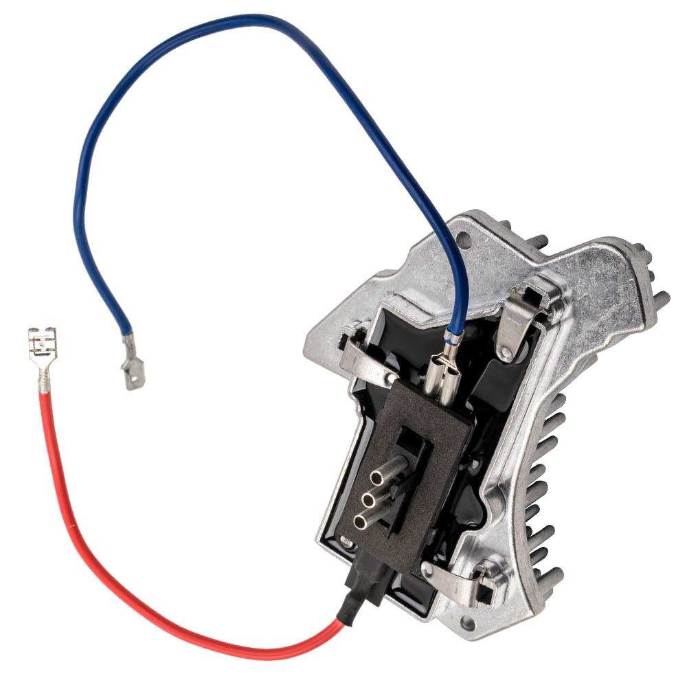 Resistenza motore ventola regolatore ventola per W202 S202 CLK C208 A208 W210 S210 R170 1993-2004 5096842AA