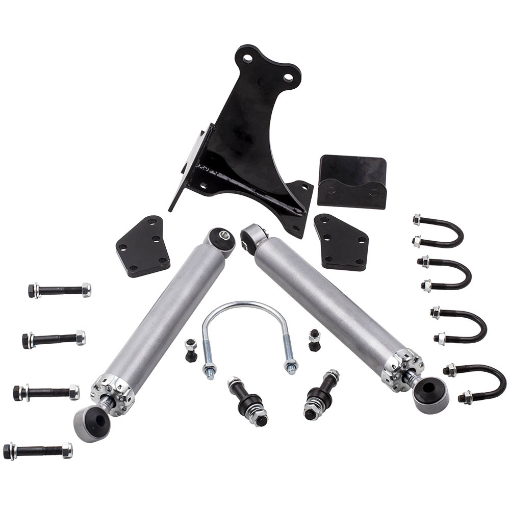 2005-2016 Ford F250//F350 Super Duty 4WD Dual Steering Stabilizer Brackets Only