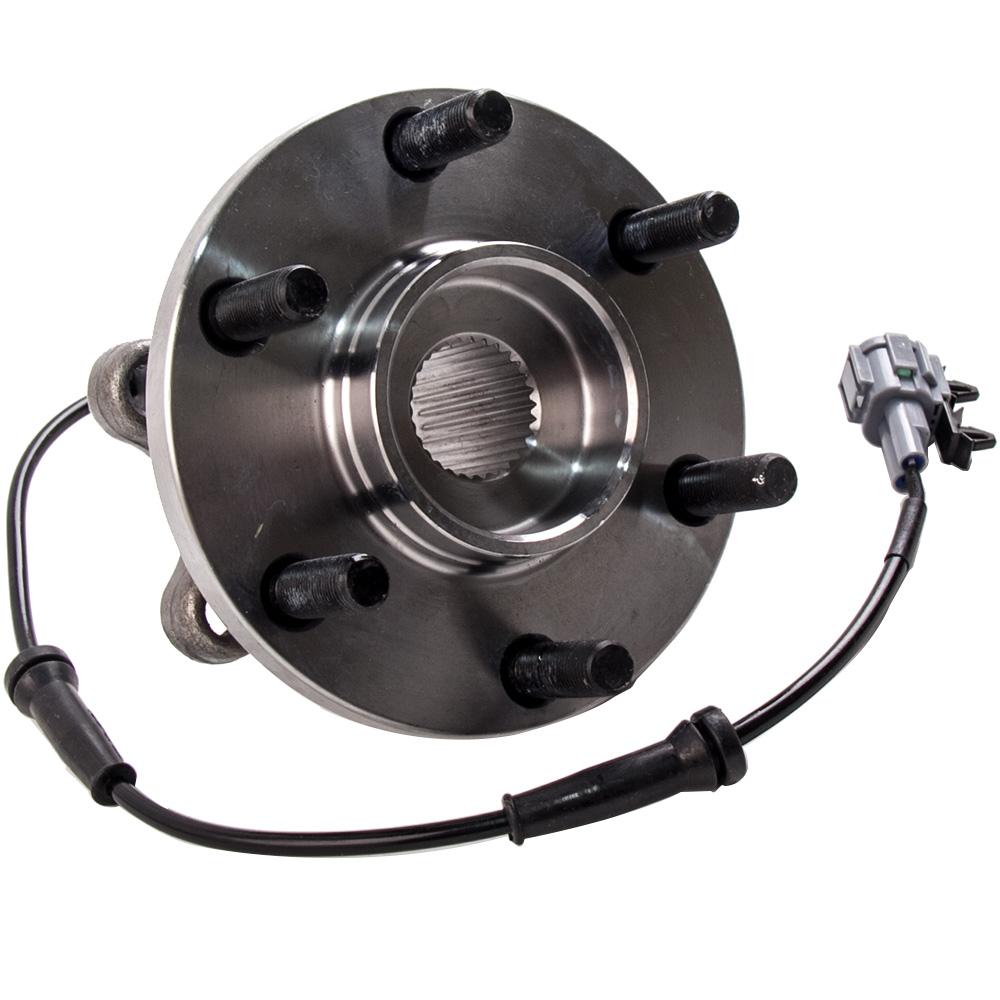 Wheel Bearing In Spanish >> 2x Front Wheel Bearing Hubs Spanish For Nissan Navara D40 D22 Yd25