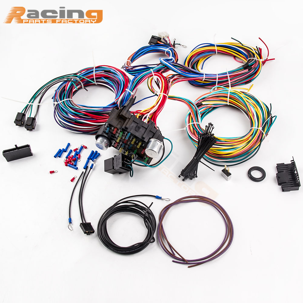 [SCHEMATICS_4HG]  21 Circuit Wiring Harness Fit Chevy Universal Hotrods For Ford Chrysler  ushirika.coop | Ford Wiring Harness Parts |  | Tanzania Federation of Cooperatives