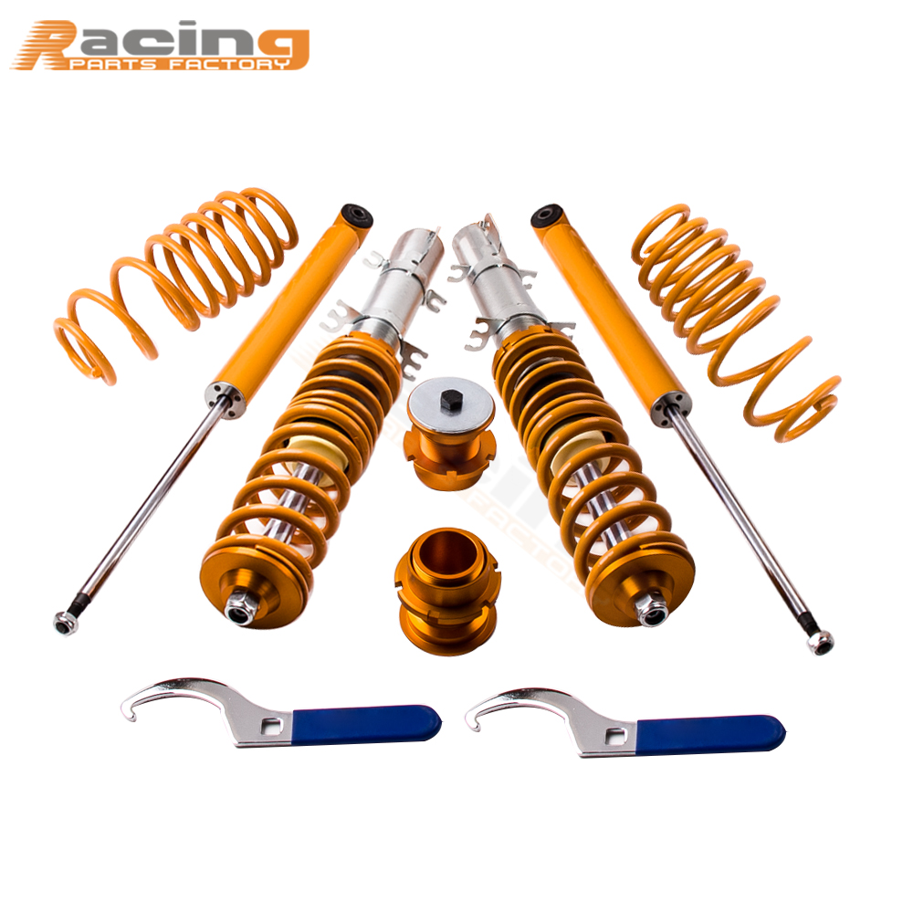 Street Coilover Kit for VW GOLF 4 MK4 RABBIT Volkswagen 2WD only A4 Typ 1J 98-05