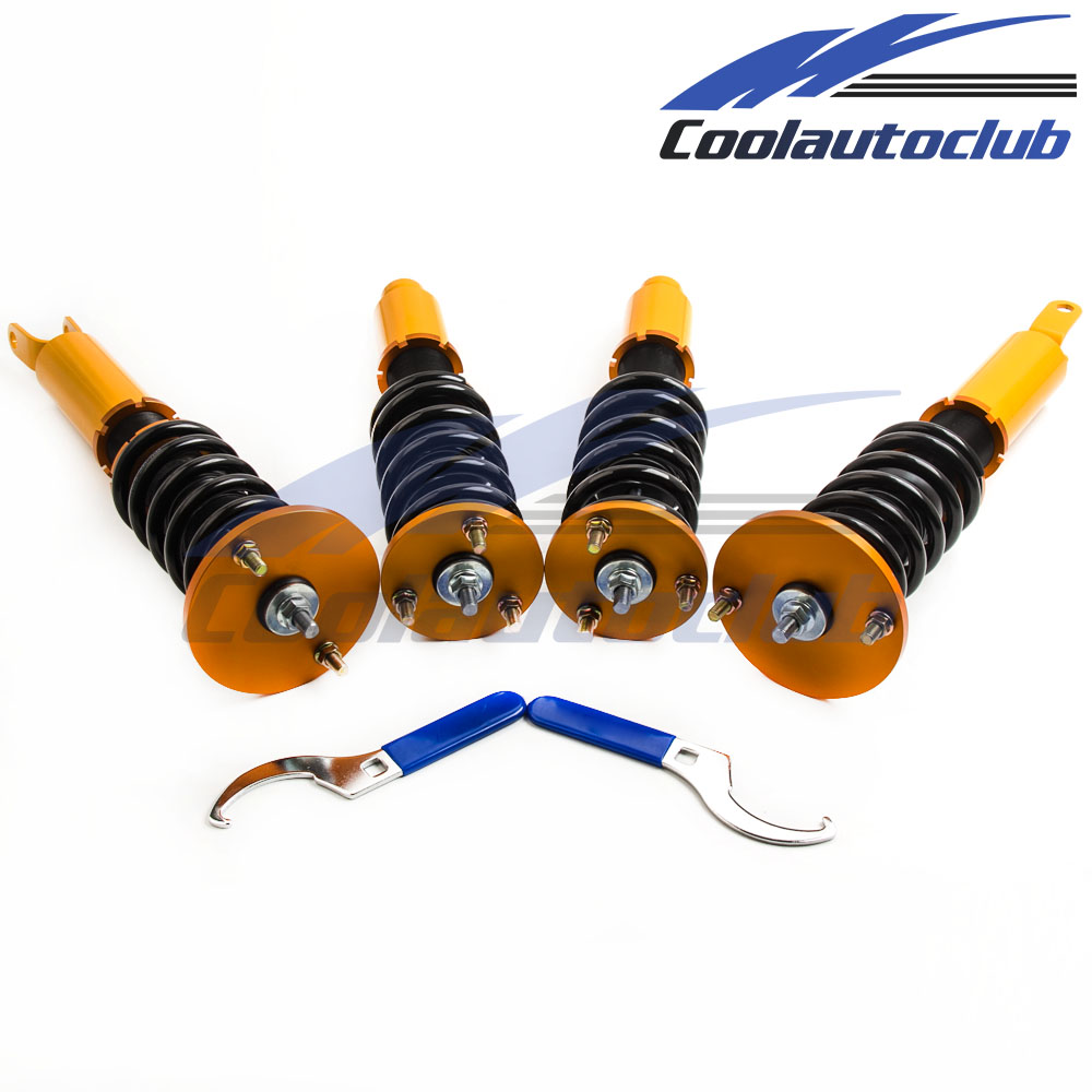 Coilover Suspenion Kits For Honda Accord 90-97 Adjustable Height Shock Absorbers