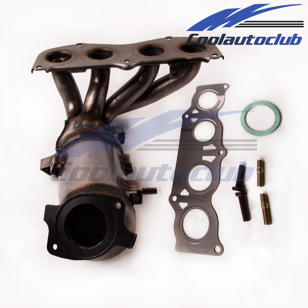 Toyota Solara Exhaust Manifold Engine System Intake: Exhaust Manifold Catalytic Converter For 2002-08 Toyota