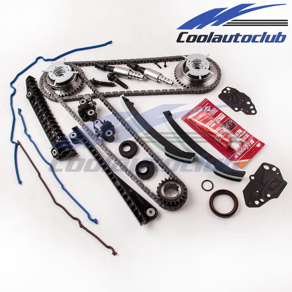 Camshaft Phaser Ford 5 4 Ebay: Fit 04-10 Ford 5.4 TRITON 3-Valve Timing Chain Kit Cam