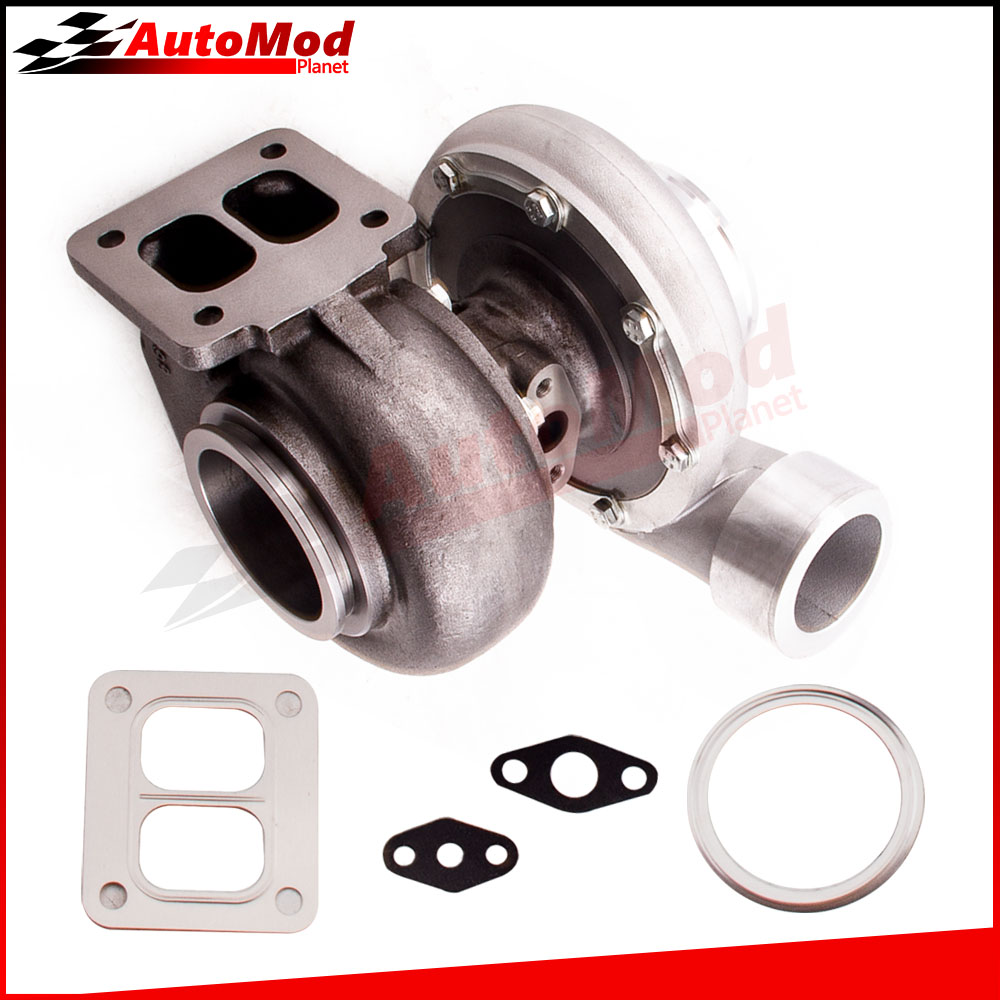 GT45 T4 V-Band 1.05 A//R 98mm Huge 600+HPs Boost Upgrade Universal Turbo charger