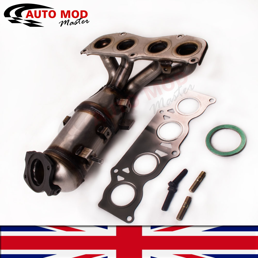 Toyota Solara Exhaust Manifold Engine System Intake: 2AZ-FE Exhaust Manifold Catalytic Converter For 2002-06
