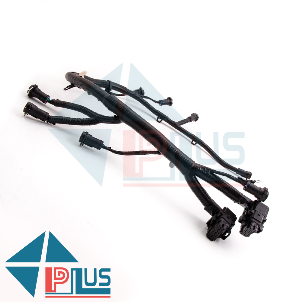 ih 5c3z9d930a(2) fit 05 07 super duty f250 f350 f450 ford fuel injector wiring 2003 ford f250 fuel injector wiring harness at crackthecode.co