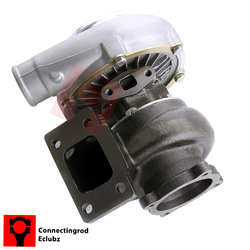 GT3076R GT3037 GT30 T3 4-BOLT Flange 500HP Turbo Charger 0.6 A/R 0.82 Turbine