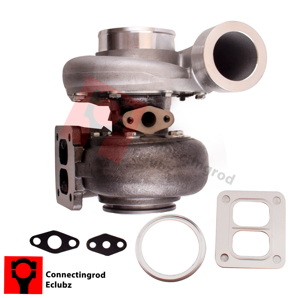 GT45 T4 V-BAND 1.05 A/R 92MM 600+HP BOOST UPGRADE TURBO CHARGER BRAND New