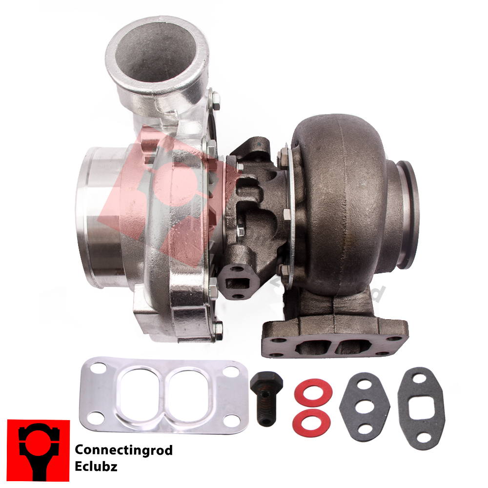 Universal Turbo Kit 4 Cylinder: GT35 GT3582 Turbo Charger T3 AR.70/63 Anti-Surge