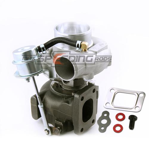 Universal Turbo Kit 4 Cylinder: HYBRID T3 T4 T03 T04 Turbo T3 Oil Cooled V-band