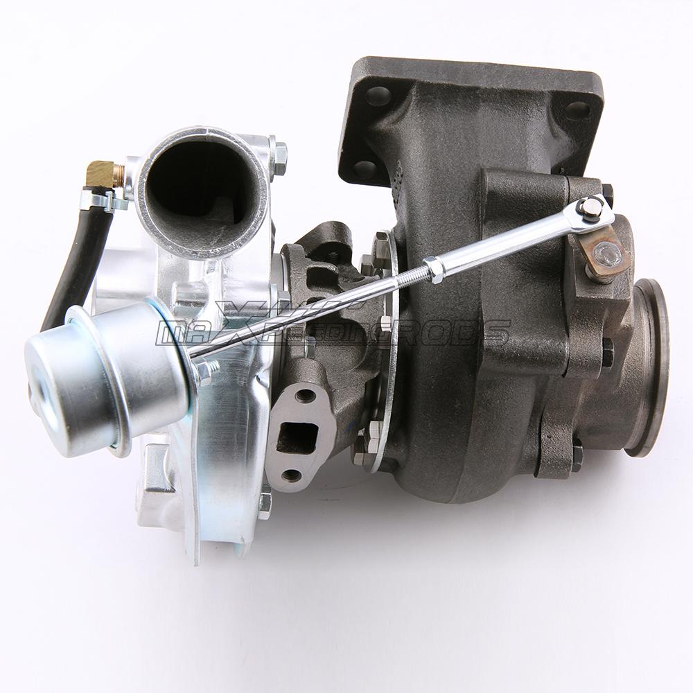 Universal Turbo Emici Baslik: Turbocompressore T3 T4 Turbo .63 A/R Oil Hybrid V Band