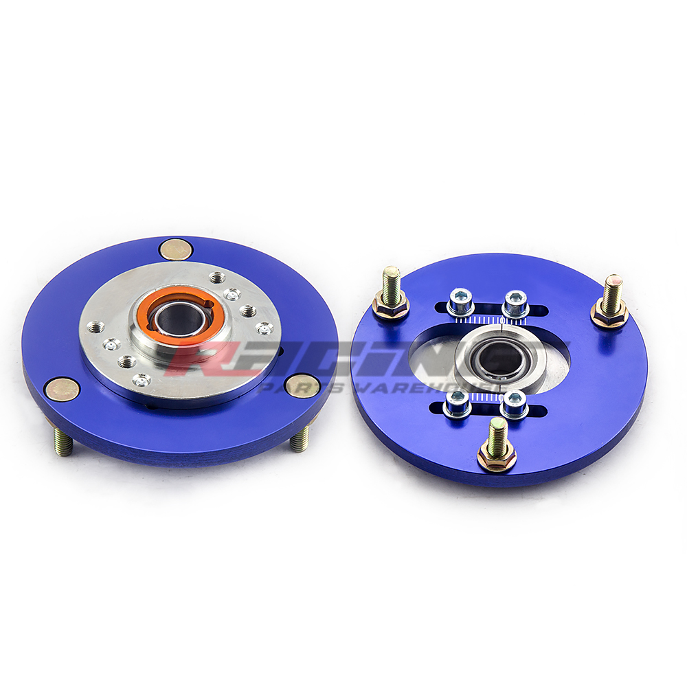 Blue Camber Plate For Bmw 3 Series E36 1992 1999 Front Coilover Top Mount Kit Ebay