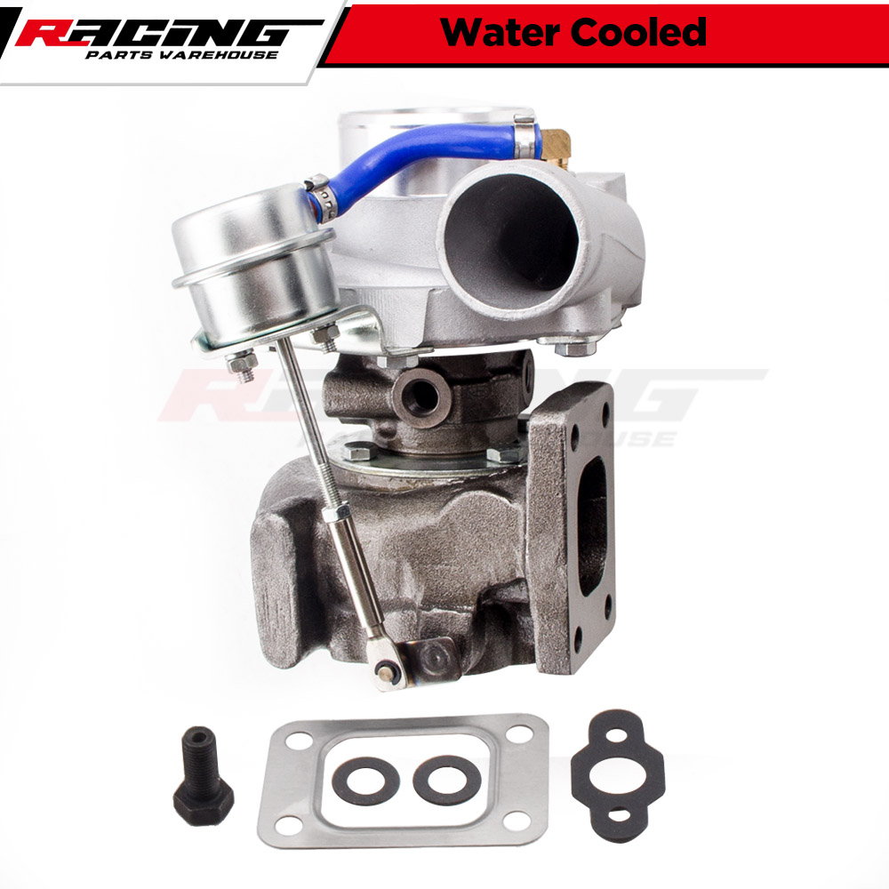 Universal Turbo Kit 4 Cylinder: T3 Flange GT35 GT3582 Universal A/R .70 Anti-surge Turbo