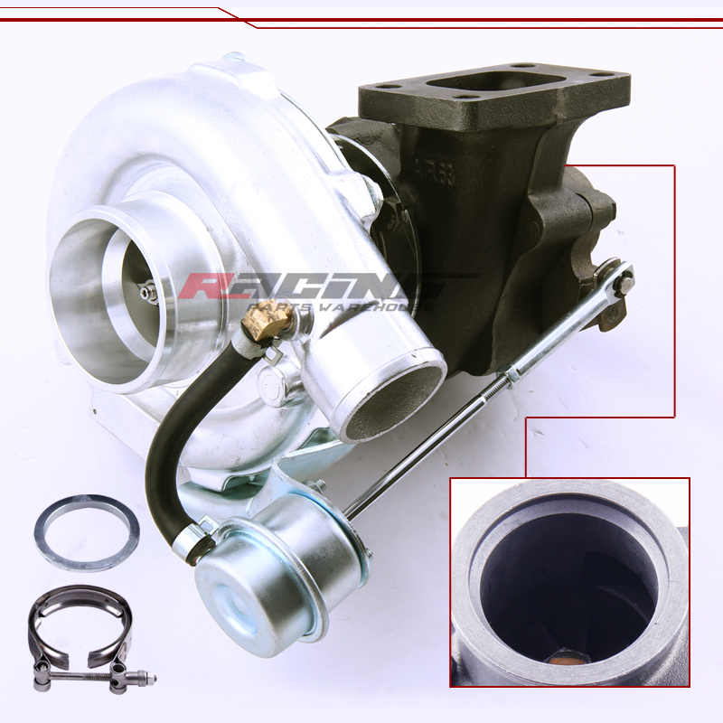 t3 t4 t04e v band turbocharger turbo 63 a r 5a r internal wastegate universal ebay. Black Bedroom Furniture Sets. Home Design Ideas