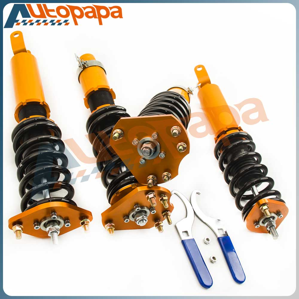 Coilover SuspensionKits for Honda Prelude 1992-2001 Adj. Height Shock Absorbers