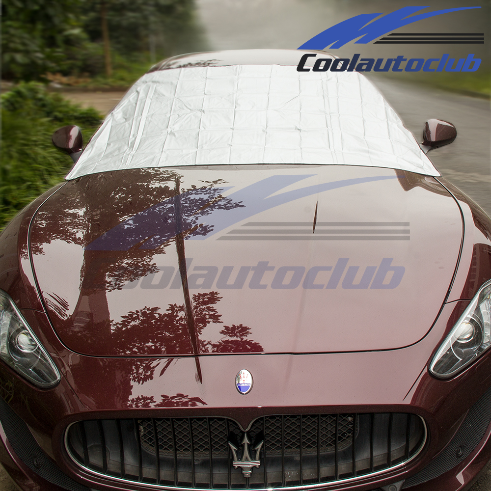 Magnetic Car WINDSCREEN COVER Frost Ice Snow Dust Shield Protector Sun Shade aid