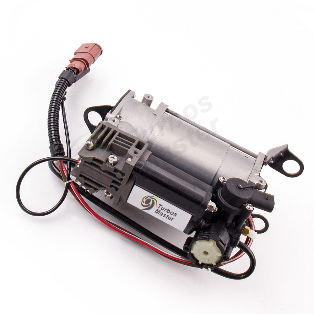 new for audi a6 c6 4f air suspension compressor pump. Black Bedroom Furniture Sets. Home Design Ideas