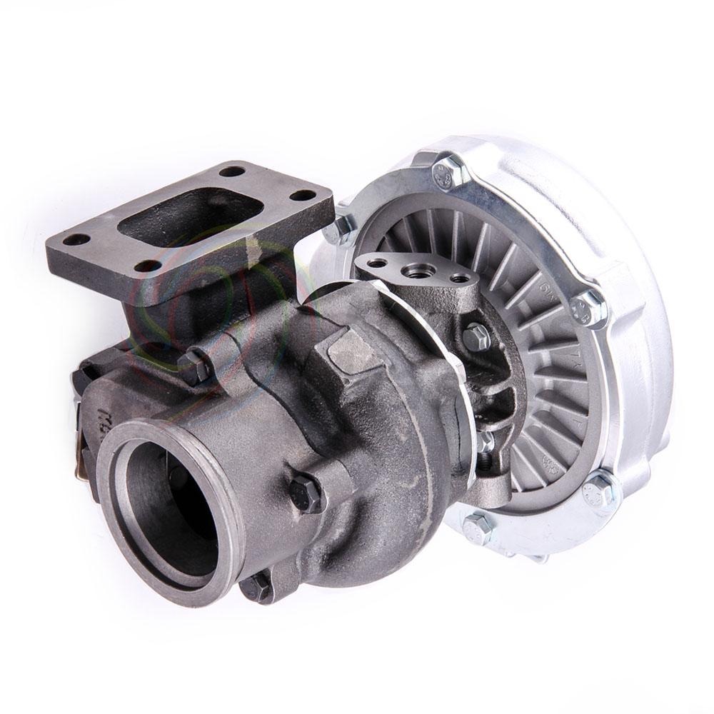 Universal Turbo Kit 4 Cylinder: T3 T4 Universal Turbo Turbocharger 0.63A/R V Band Flange